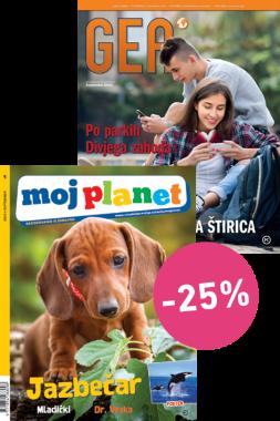 KOMPLET REVIJ MOJ PLANET + GEA