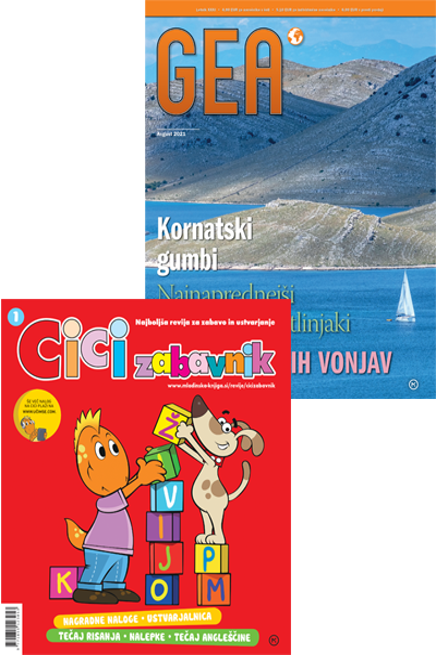 KOMPLET REVIJ CICI ZABAVNIK + GEA